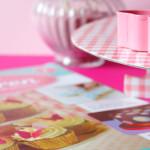 Torten Dekorieren - Magazin von DeAgostini - Test - Cupcake Ständer - Glitzer und Schmetterlings Ausstecher - niner bakes - cake decorating magazine