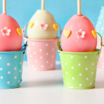 easter egg cake pops - happy easter treats - niner bakes