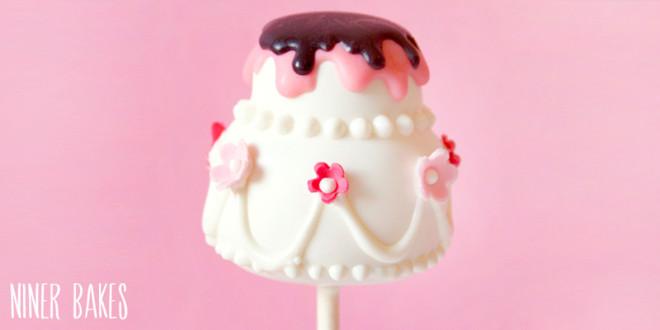 {Tutorial} Heut wird geheiratet – Hochzeitstorten Cake Pops