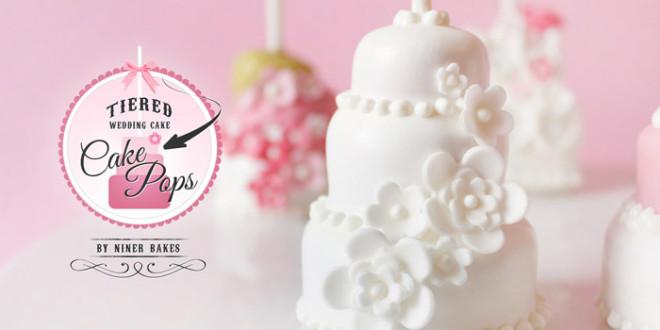{Anleitung} Etwas Besonderes für alle Brautpaare: 3 stöckige Hochzeitstorten Cake Pops