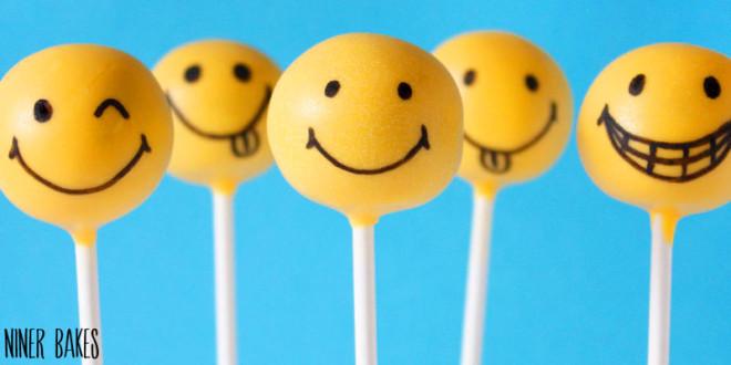 Glückliche Gesichter! Happy Smiley Cake Pops Tutorial